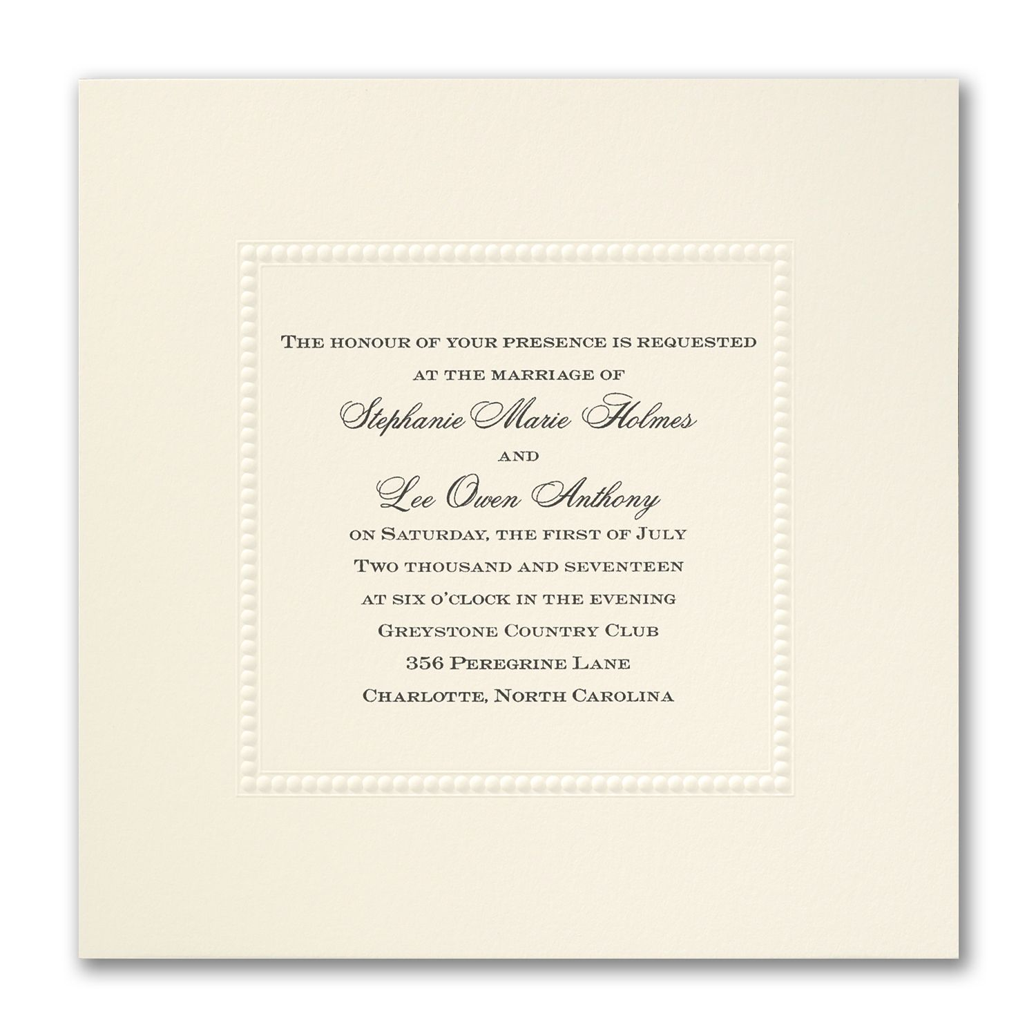 Fine Romance - Invitation | Wedding Invitations | Pinterest ...