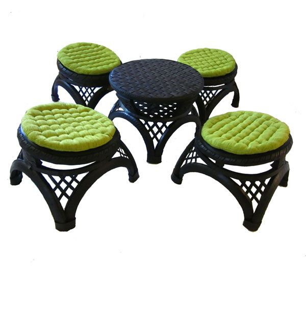 Ottoman Set Made From Recycled Tyres Www Retyredfurniture Com