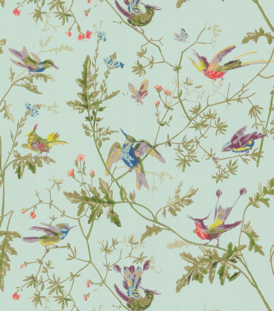 Wallpaper Designs With Birds : Vintage bird wallpaper google search furnishings