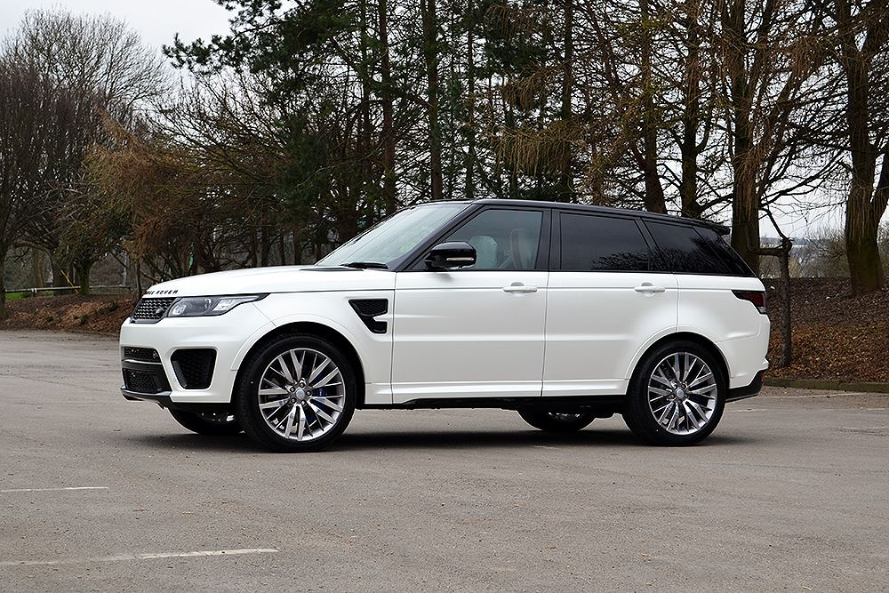 Range Rover Sport Svr Wrapped In Satin Pearl White Beautiful Wrapped Reformauk Rangerover Range Rover Sport Range Rover Range Rover Sport 2018