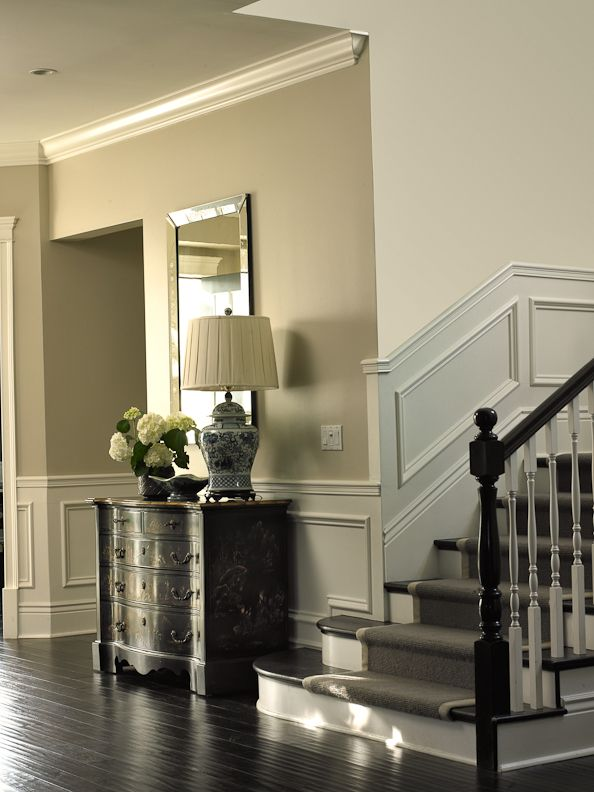 Beautiful Traditional Entry Hall Stairway Get The Look