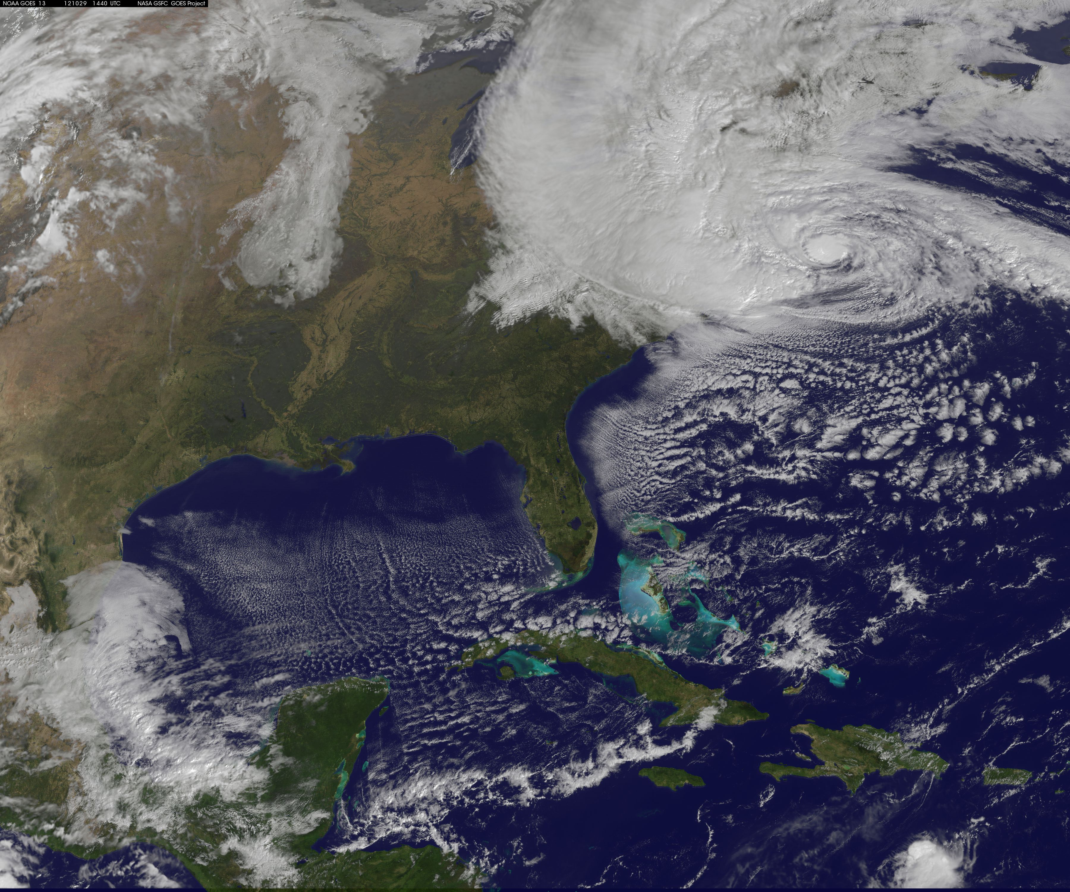 Hurricane Sandy From Space Hurricane Sandy Sandy Hurricane
