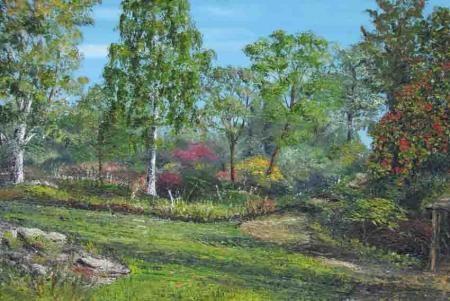 Crimson glory Vine harlow Carr, Harlow Carr Gardens, David Starley, SAA Professional Members' Galleries