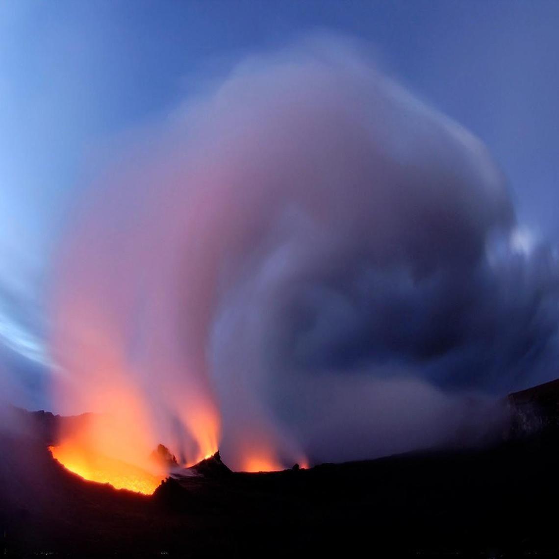 What type of volcano is Mount Kilauea?