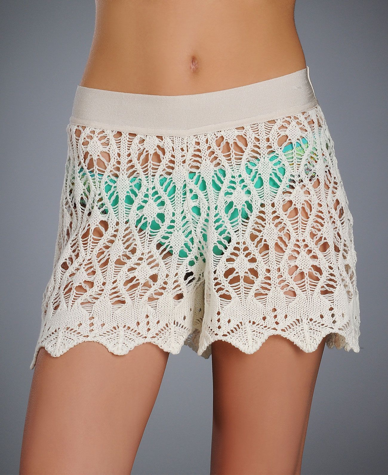 Crochet swim cover up shorts really beautiful inspiration but i cecilia prado mare maria crochet swim cover up shorts bankloansurffo Images