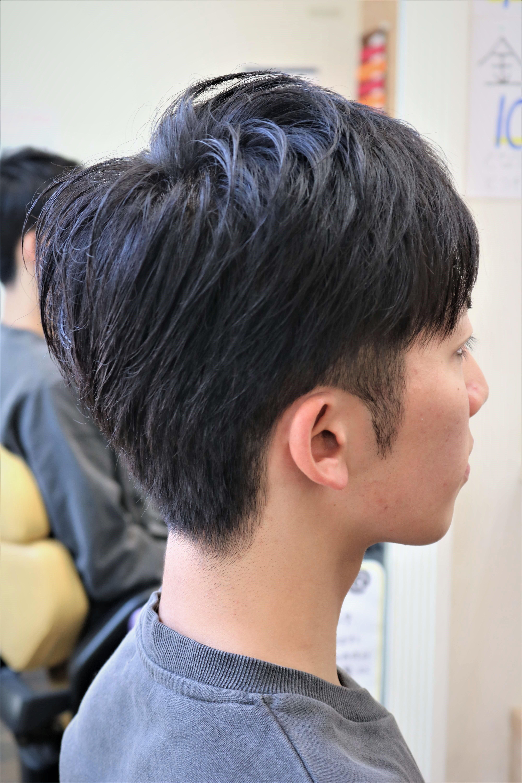 20代大学生8ミリツーブロック後ろは刈り上げないスタイル詳細記事 ツーブロック 男の子 ヘア カット 大学生 ヘア