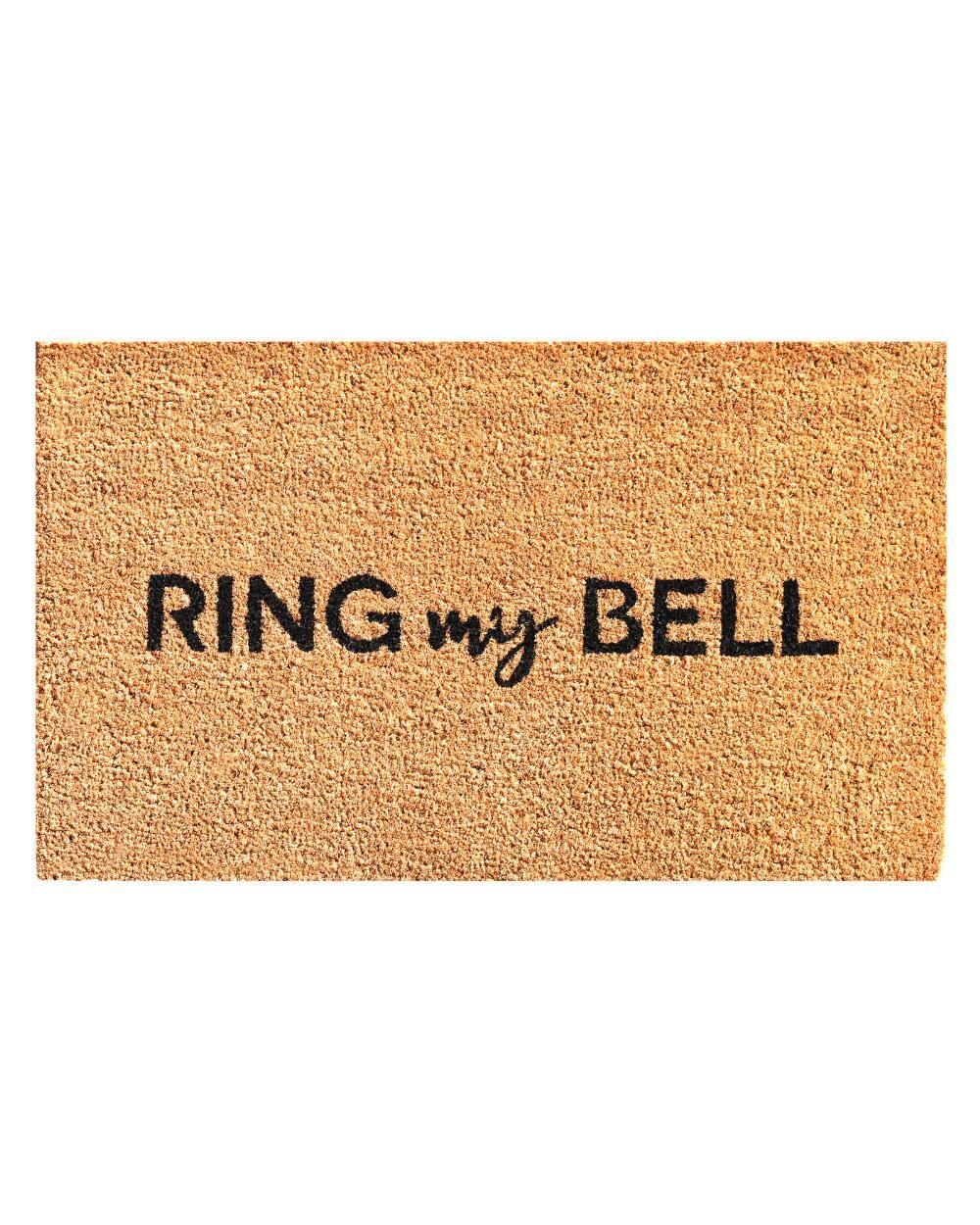 Ring My Bell Doormat 17 X 29 Ring My Bell Rings Decor