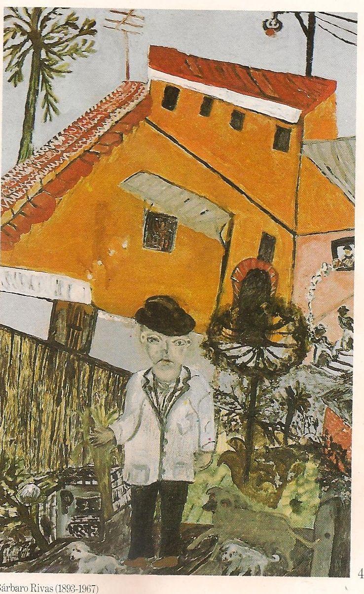 Bárbaro Rivas, La Casa el Artista, 1956