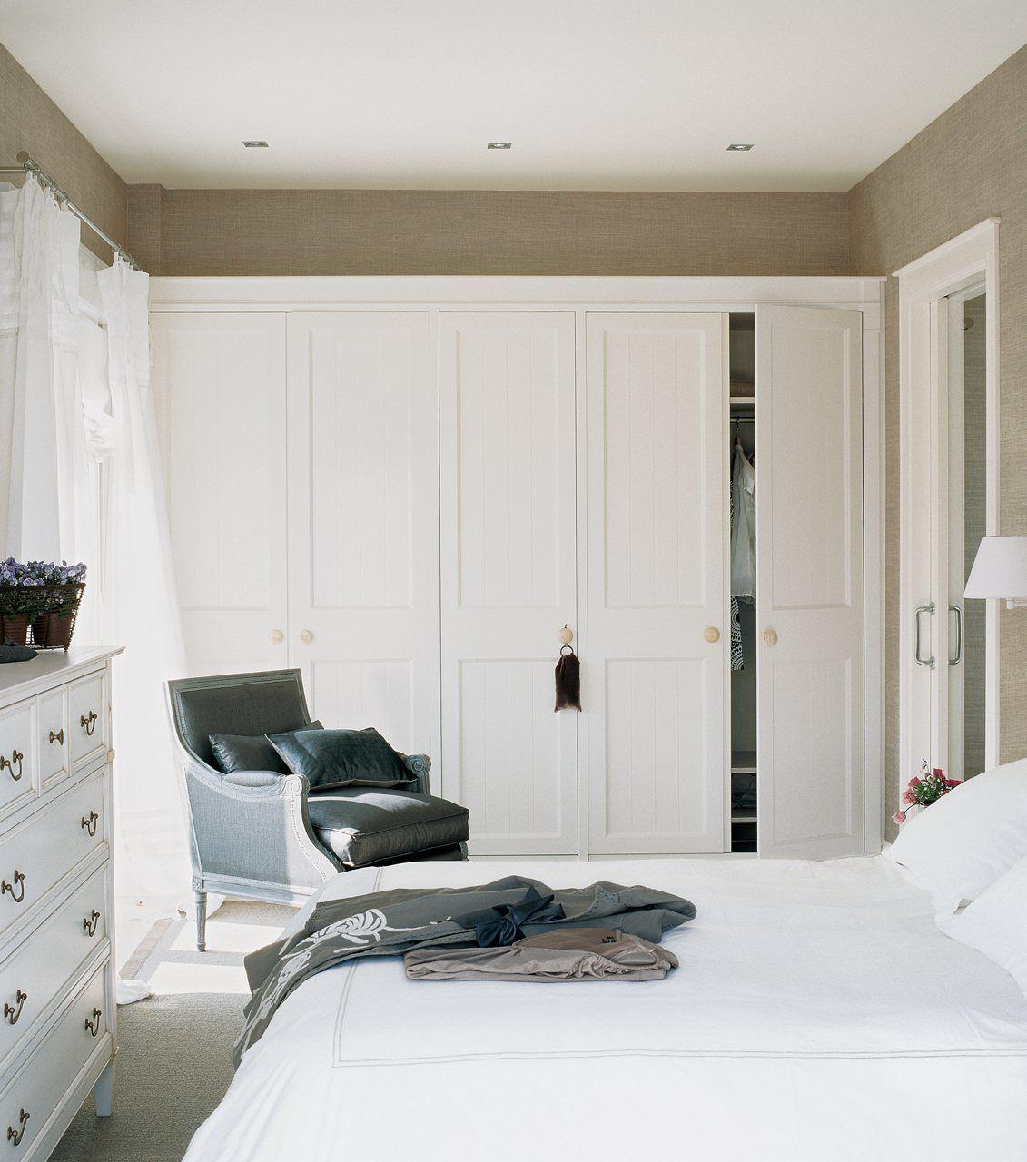 Dormitorios peque os con ideas for Armarios dormitorio matrimonio