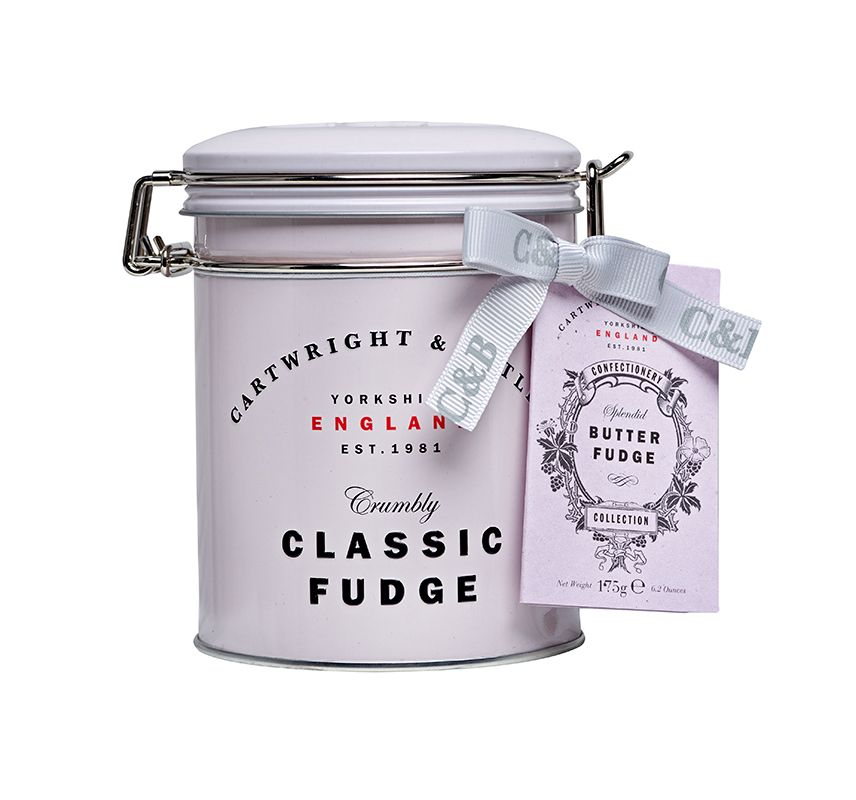 Cartwright & Butler Butter Fudge in Gift Tin