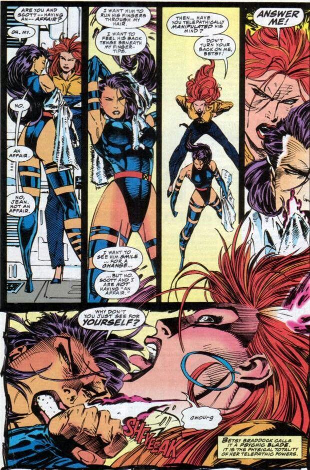Psylocke Vs Jean Grey