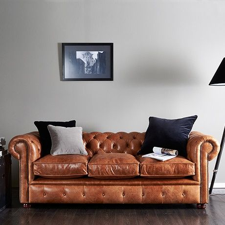 Brighton Chesterfield Sofa - alt_image_three House - lounge - moderne wohnzimmer couch