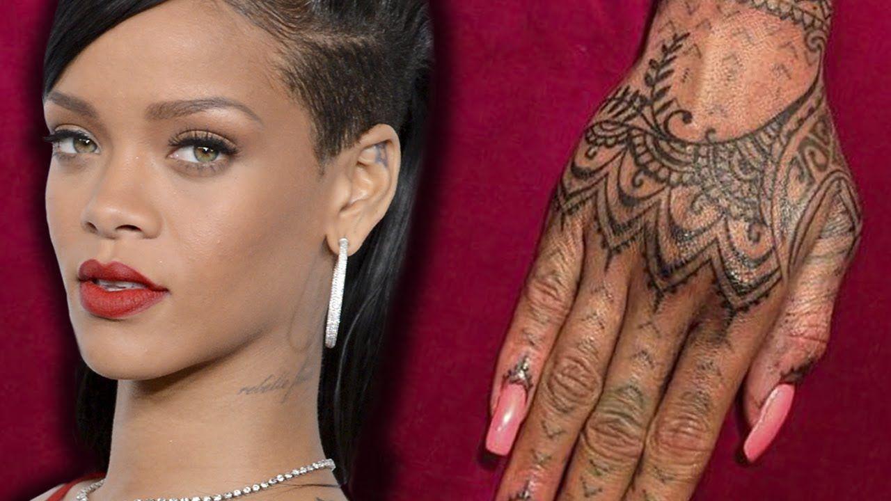 Google themes rihanna - Rihanna Hand Tattoo Google Search
