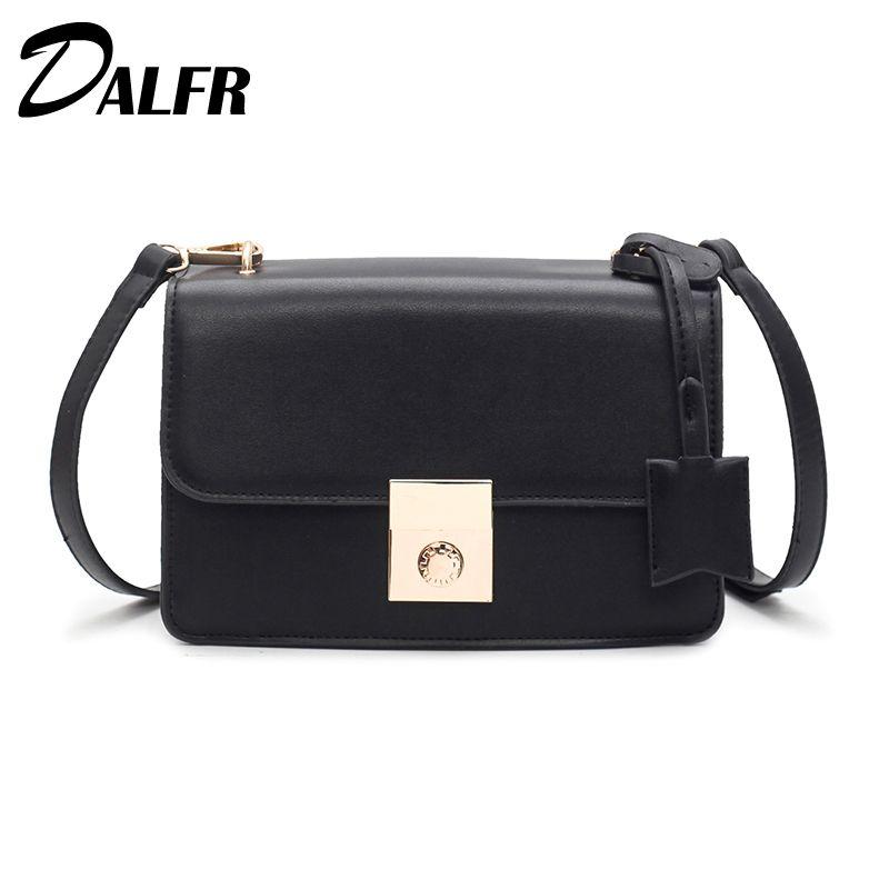 998496043c06 Купить товар DALFR искусственная кожа Сумка Для женщин сумка 2018 мода сумка  женская через плечо маленькая