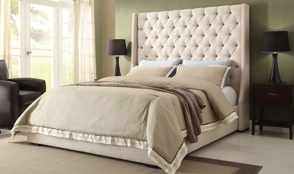 Park Ave Low Profile Bed Wayfair High Headboard Beds