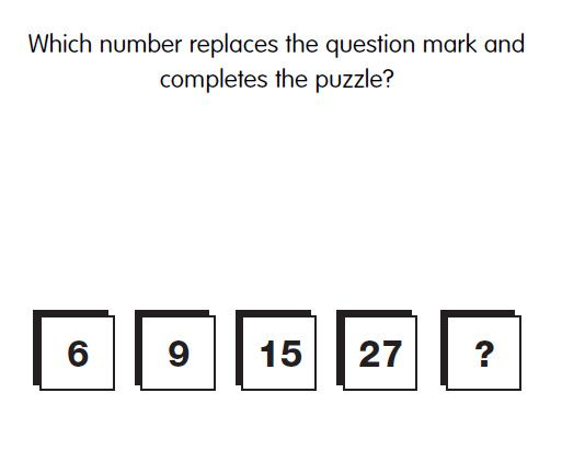 Iq Test Question   What Is The Missing Number Answer