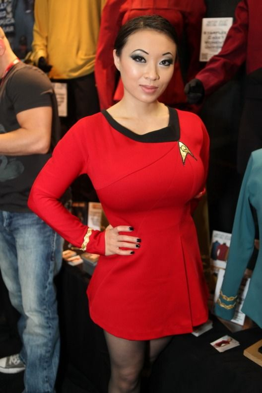 TNG style | Star trek cosplay, Star trek costume, Star