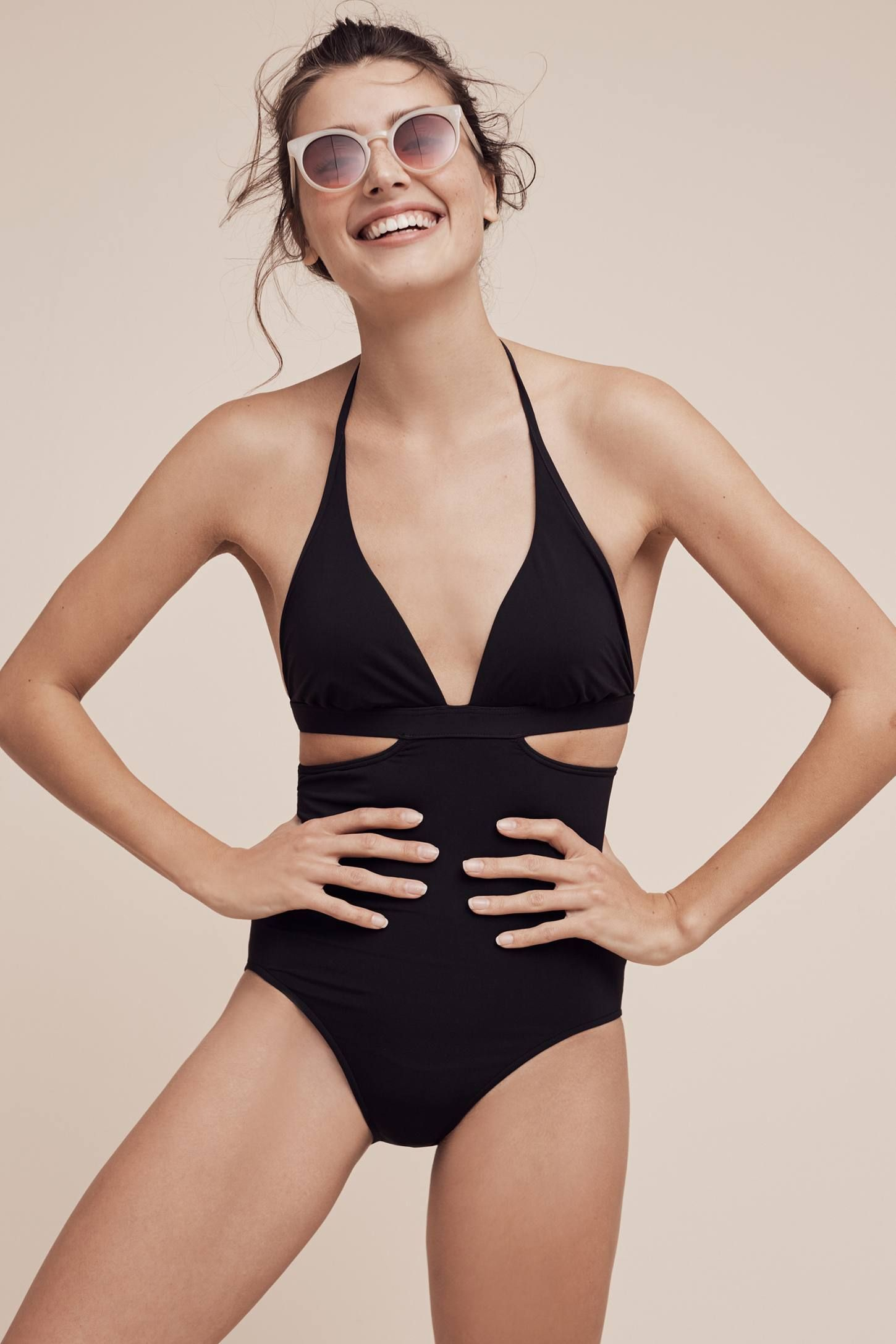 Seafolly Side Cutout One-Piece Swimsuit