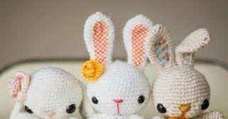 Conejo Amigurumi Patron Gratis : Patron gratis conejos amigurumi crochet