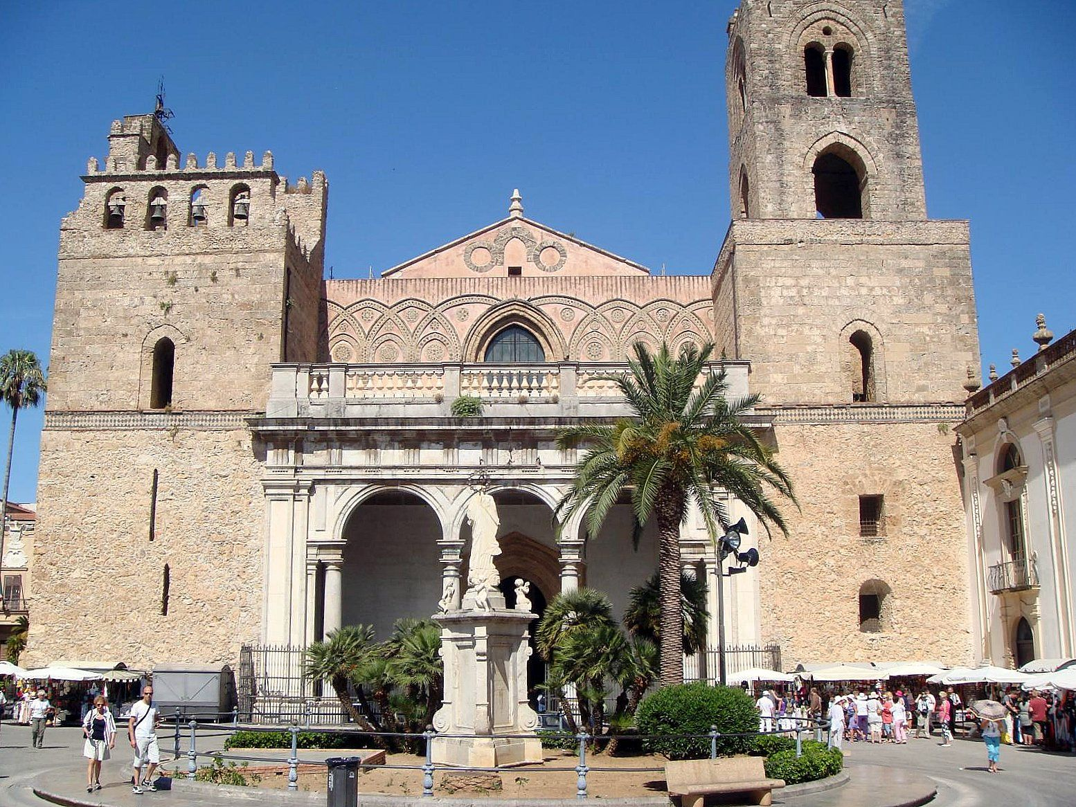 cathedreal of monreale palermo construction on the duomo began in