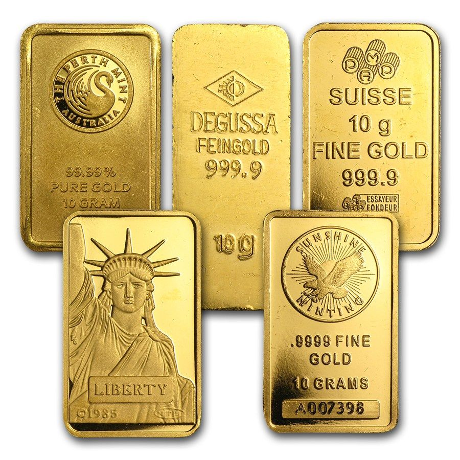 10 Gram Gold Bars Gold Money Buy Gold And Silver Gold Bullion Coins