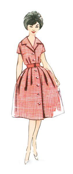 Shirt Dress Burda Vintage Fashion No. 7179 | Burda Patterns ...