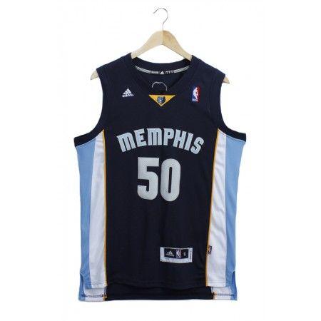 Mens Memphis Grizzlies Zach Randolph Number 50 Jersey Dark Blue http   www. b78a708af