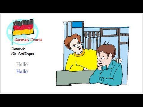 German Course [01] Hallo Deutsch für Anfänger YouTube