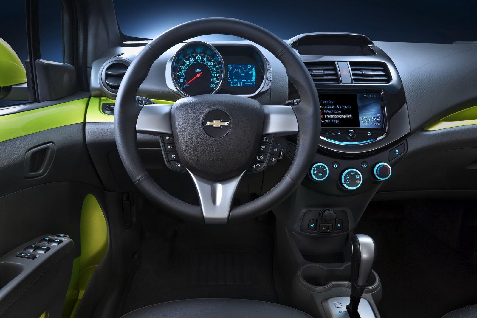 Sharp Interior Chevrolet Spark Chevrolet 2014 Chevy Spark