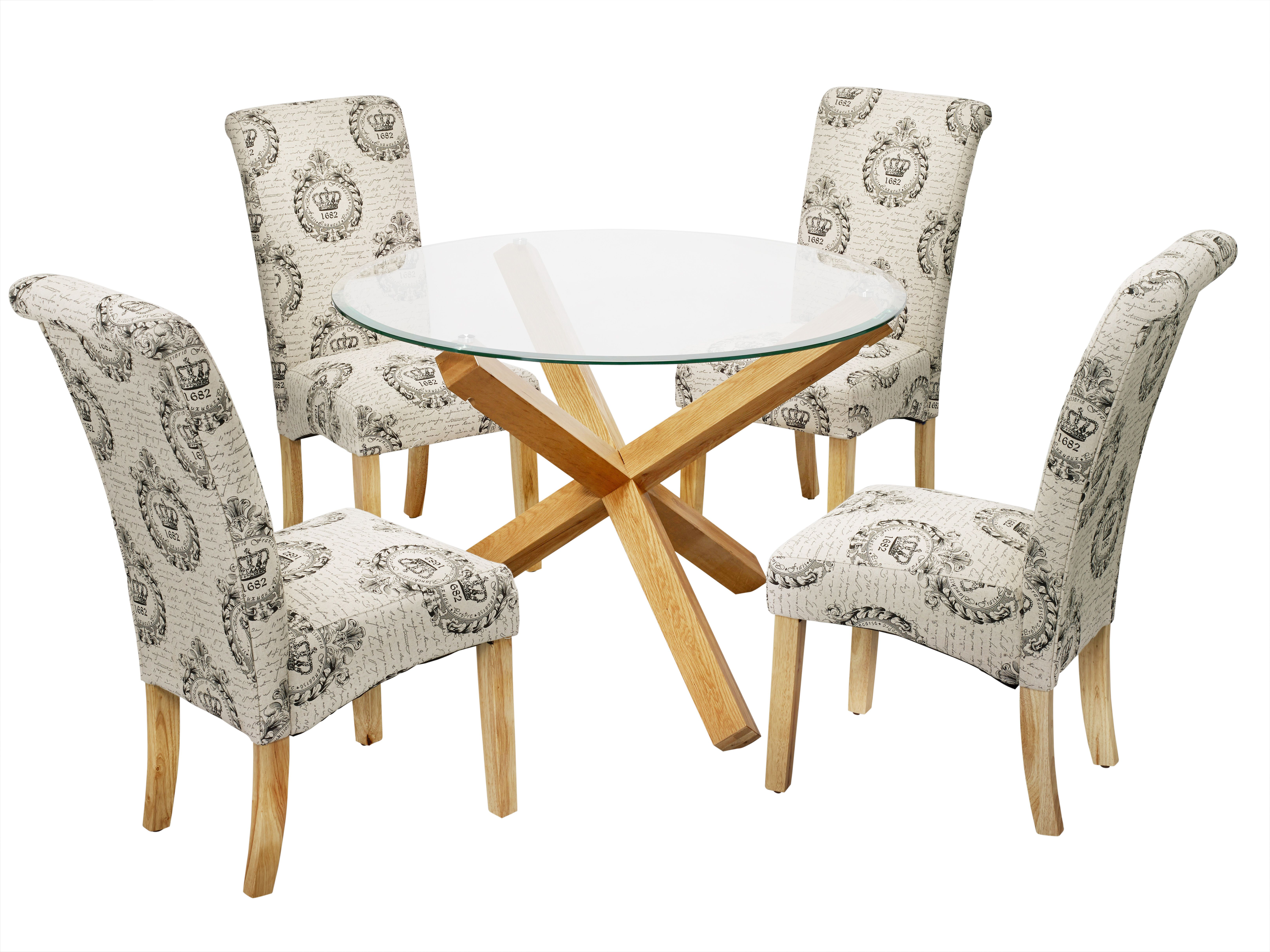 Lpd Furniture Oporto Large Round Dining Table Dining Room  # Meuble Krista