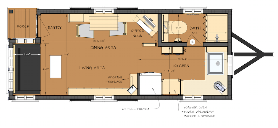 Awesome Free Floor Plan Catalogs Part - 3: Free Tiny House Plans By THE Small HOUSE CATALOG ...