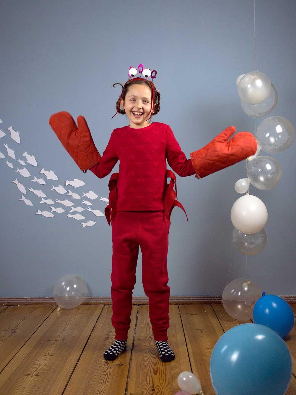 Faschingskostüme für Kinder: Auf Tauchstation   Diesen Karneval feiern wir eine wilde Unterwasser-Sause – mit Krabben, Quallen, Haien und anderen Meeresbewohnern