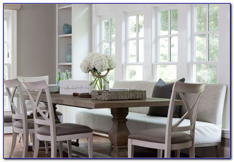 Dining Room Benches Upholstered Dining Table With Bench Dining