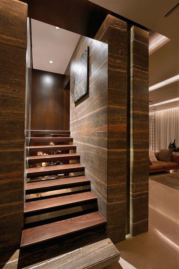 Brauntöne in der Wohnung – ein elegantes Beispiel aus Indien ...
