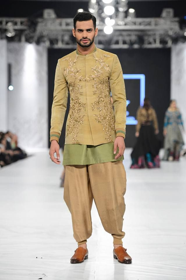 7ad1f4e7a9 HSY golden embroidered sherwani designs 2016-2017 | Pakistani/Indian ...