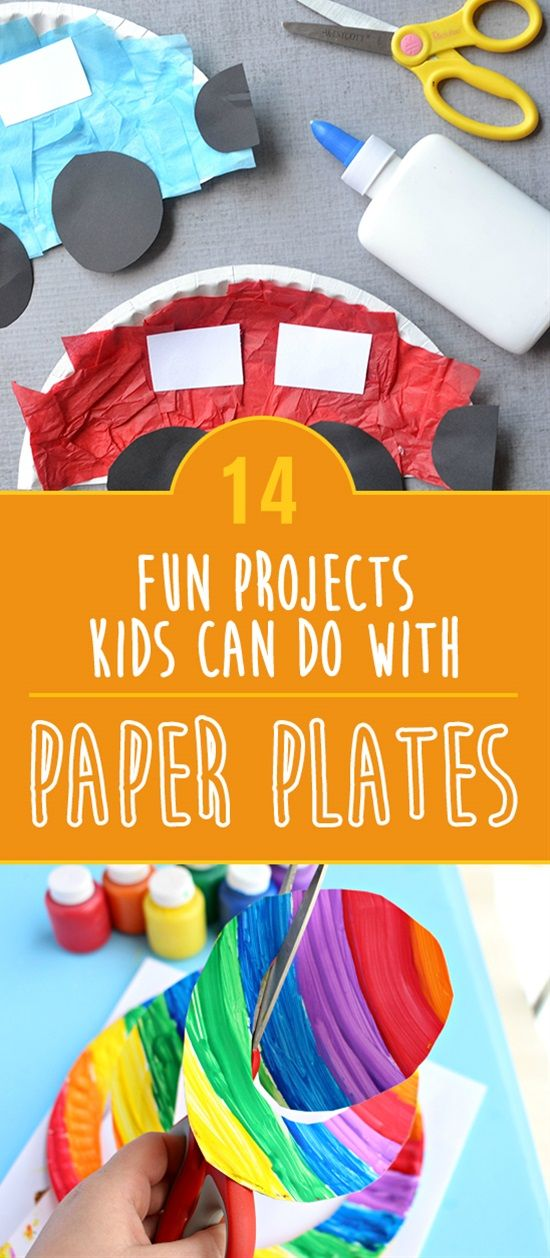 14 Fun Projects Kids Can Do With Paper Plates & 14 Fun Projects Kids Can Do With Paper Plates | Learning Fun ...
