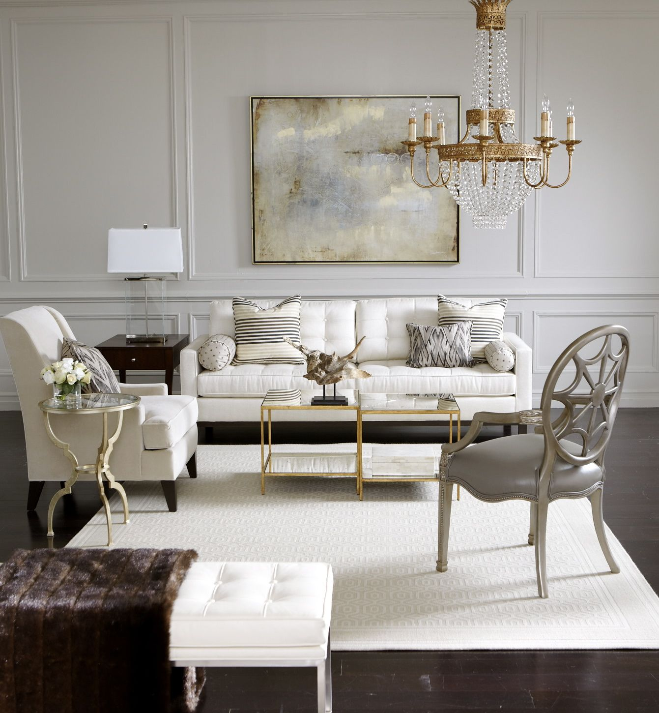 Ethan Allen Jordan Bunching Coffee Table: How To Arrange Furniture In A Small Living Room