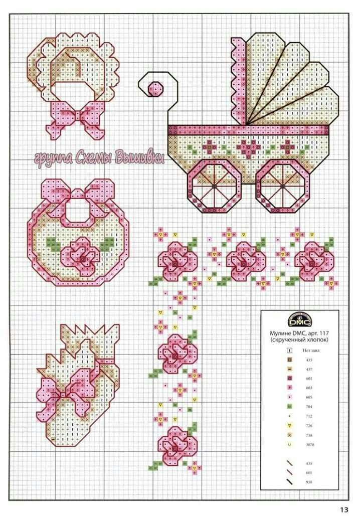 Cosas de bebés | punto de cruz | Pinterest | Cross stitch baby ...