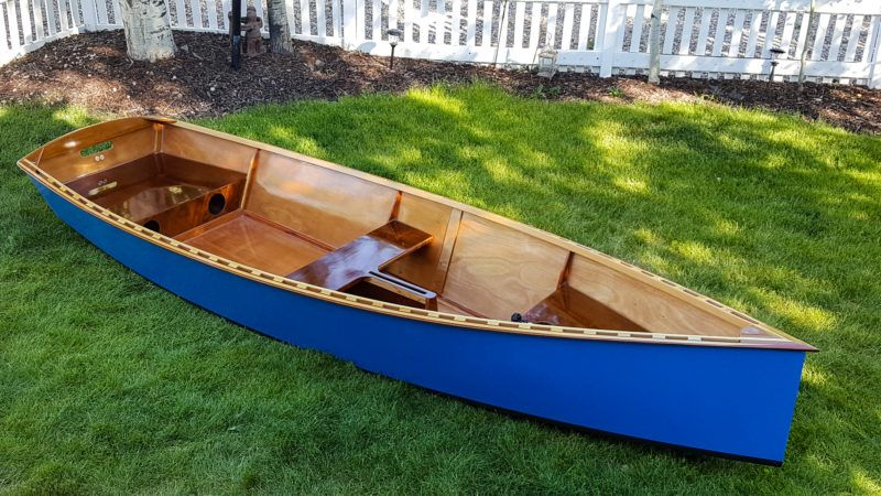 New Goat Island Skiff with Yawl Rig - Small Boats Monthly