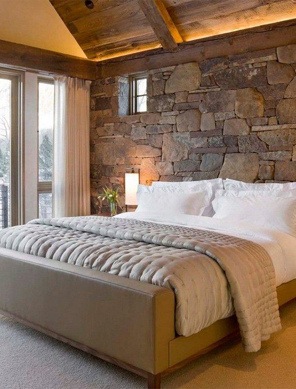 15 Wicked Rustic Bedroom Designs That Will Make You Want Them: Rustic Look For Your Bedroom #rustic #rusticdecor