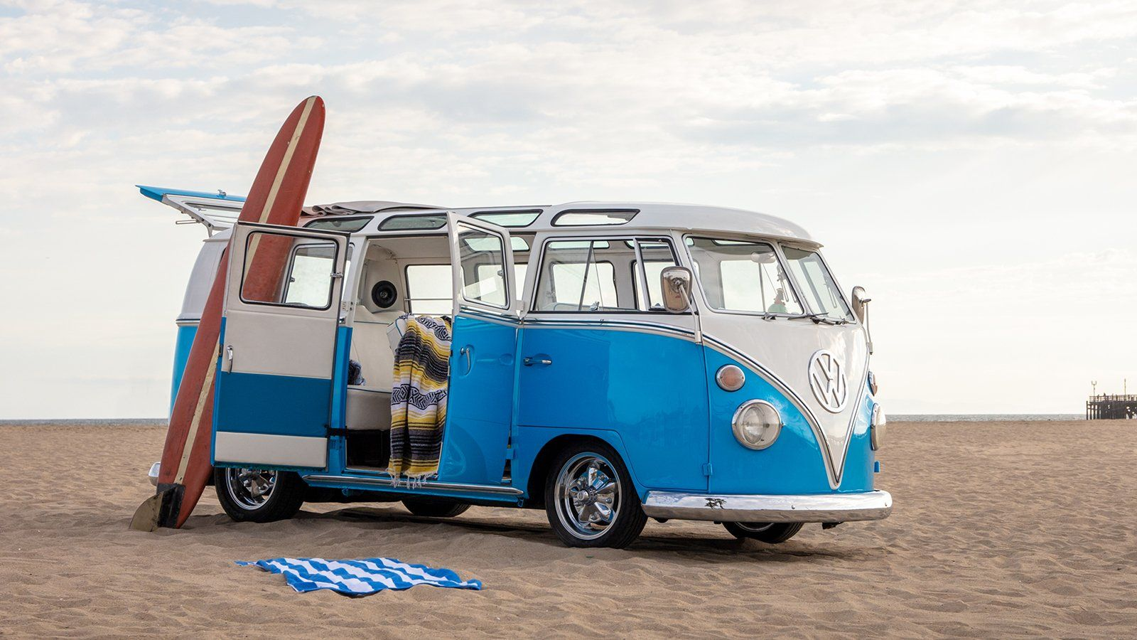 Win A One Of A Kind Customized 1967 Vw 21 Window Bus Beach Rides