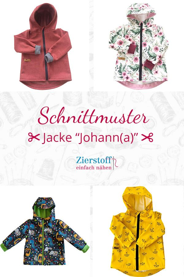 "Photo of Sewing pattern & sewing instructions for jacket ""Johann (a)"" with …"