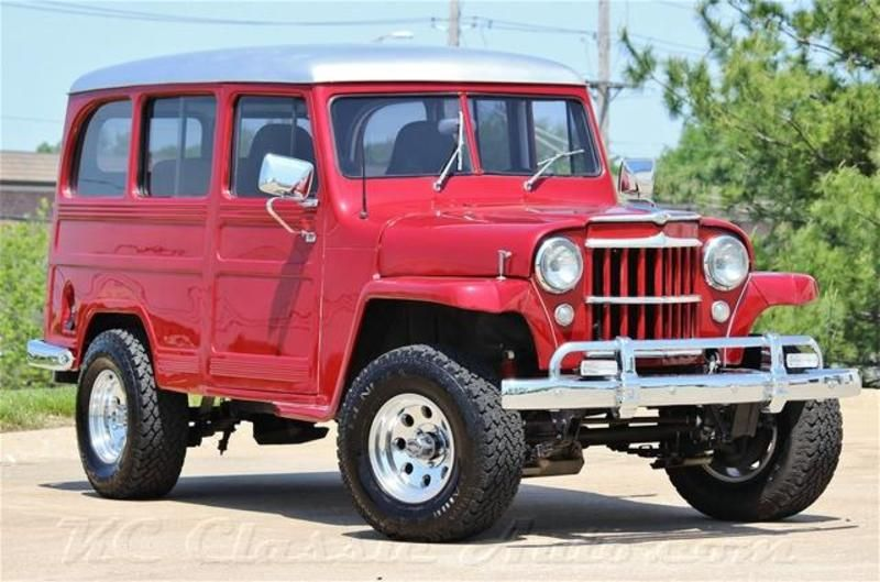 1954 Jeep Willys Utility Wagon Custom Resto Mod For Sale Lenexa