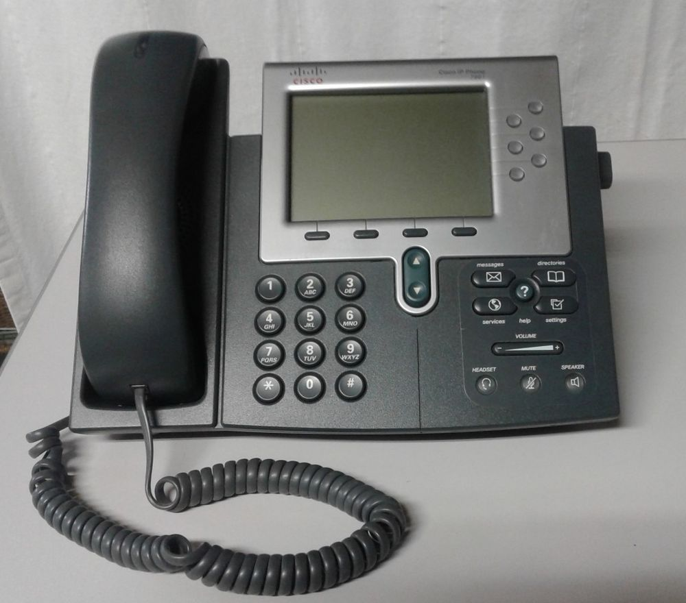 Cisco CP-7961G Unified IP Phone FREE SHIPPING WARRANTY PROVIDED