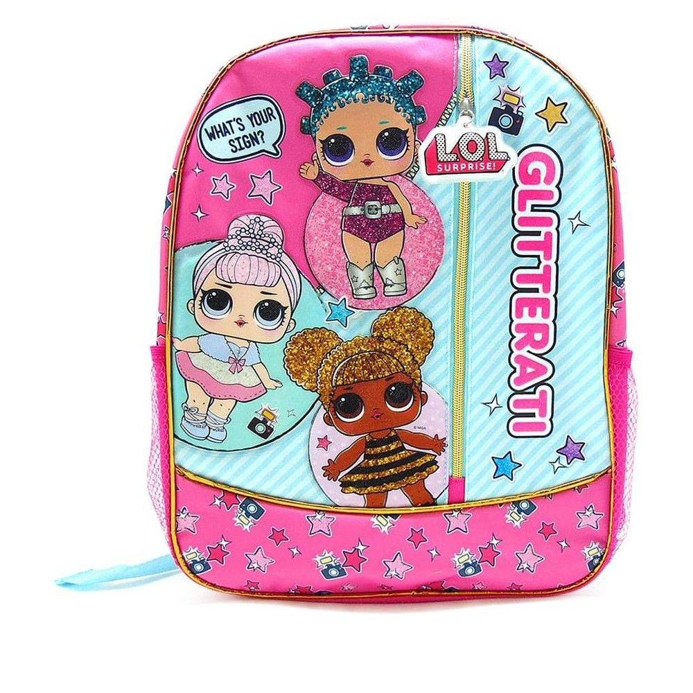 bf45770ba50e Lol Surprise! Glitterati 16-Inch Girl s Backpack in 2019