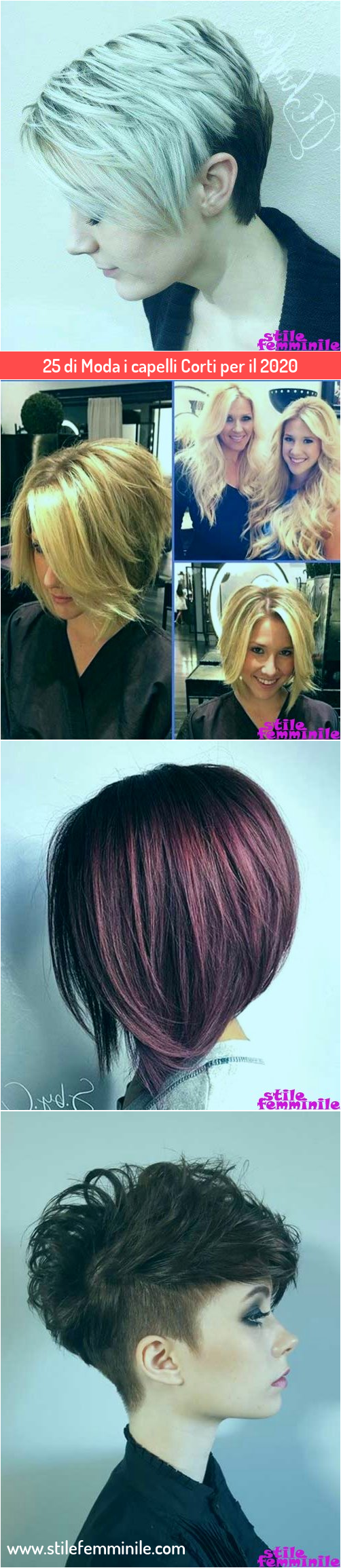 Photo of 25 di Moda i capelli Corti per il 2020