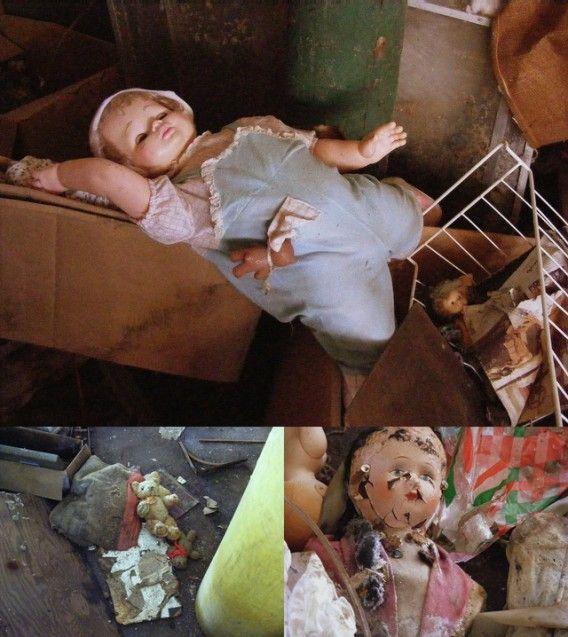 悪夢がドアをノックする 世界7つのおもちゃ工場 ショップ廃墟 画像