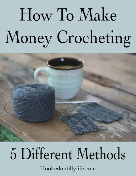 How to Make REAL Money Crocheting #craftstosell