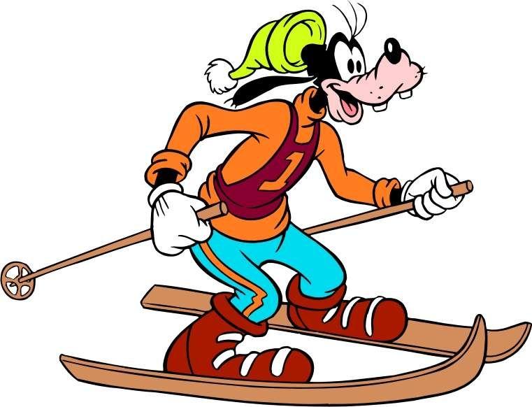 disney cartoon goofy skiing wallpapers goofy skiing disney cartoons