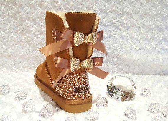 Bling Ugg Bailey Bow 262938a96